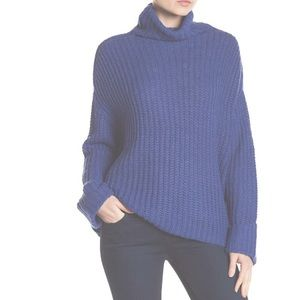 Free Press turtleneck knit sweater